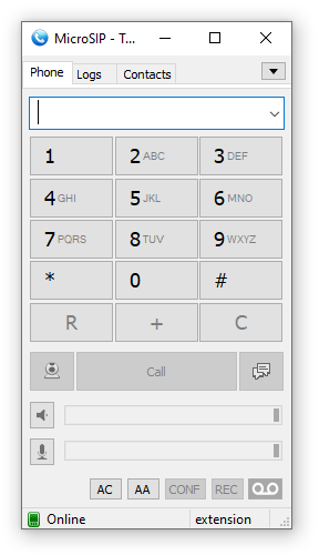 MicroSIP - lightweight VoIP SIP softphone for Windows - Official