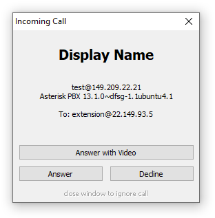 MicroSIP - lightweight VoIP SIP softphone for Windows